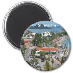 St. Martin and Marigot Bay Photo Magnets