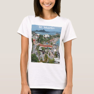 St. Martin and Marigot Bay Photo T-Shirt