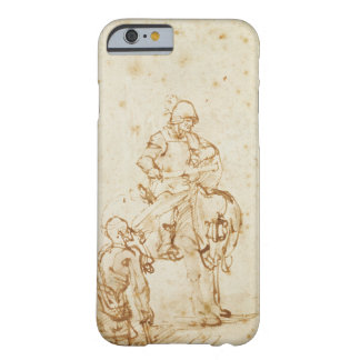 St. Martin and the Beggar (pen & ink on paper) Barely There iPhone 6 Case