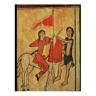 St. Martin and the Beggar Postcard