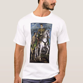 St Martin and the Beggar T-Shirt
