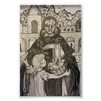 St. Martin de Porres and Child Poster