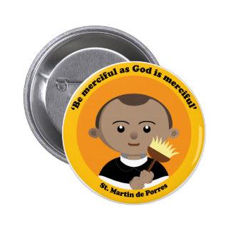 St. Martin de Porres Button