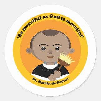 St. Martin de Porres Classic Round Sticker