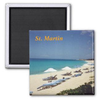 st. martin fridge magnet