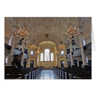 St Martin-in-the-Fields, London Greeting Card