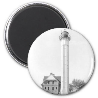 St. Martin Island Lighthouse 2 Inch Round Magnet