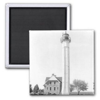 St. Martin Island Lighthouse 2 Inch Square Magnet