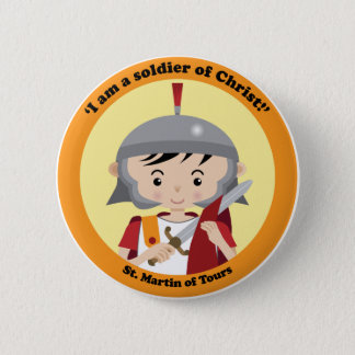 St. Martin of Tours Pinback Button