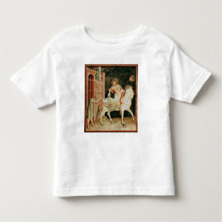 St. Martin sharing his cloak with the beggar Toddler T-shirt