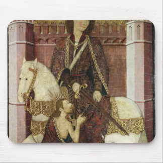 St. Martin Sharing his Coat Mouse Pad