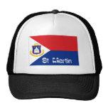 St Martin sint maarten flag souvenir hat