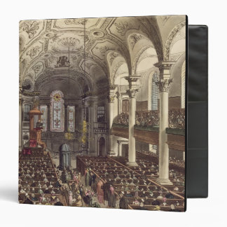 St Martins in the Fields, from 'Ackermann's Microc 3 Ring Binders