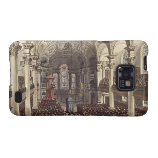 St Martins in the Fields, from 'Ackermann's Microc Samsung Galaxy SII Cover