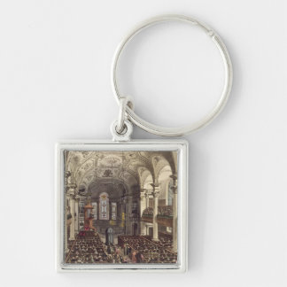 St Martins in the Fields, from 'Ackermann's Microc Key Chains