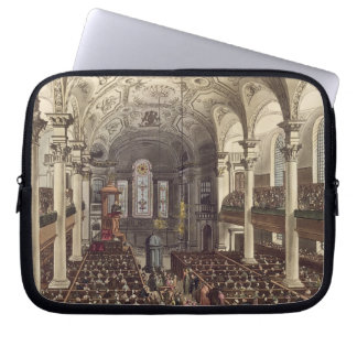 St Martins in the Fields, from 'Ackermann's Microc Laptop Sleeve
