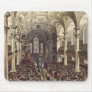 St Martins in the Fields, from 'Ackermann's Microc Mouse Pad