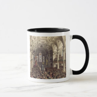 St Martins in the Fields, from 'Ackermann's Microc Mug