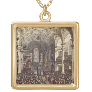 St Martins in the Fields, from 'Ackermann's Microc Necklaces