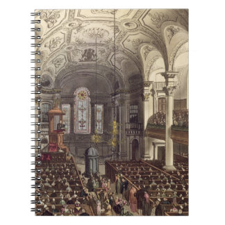 St Martins in the Fields, from 'Ackermann's Microc Spiral Notebooks