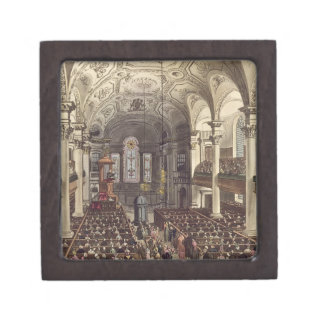 St Martins in the Fields, from 'Ackermann's Microc Premium Gift Boxes