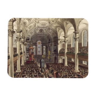 St Martins in the Fields, from 'Ackermann's Microc Magnets