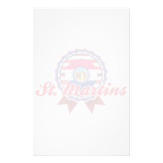 St. Martins, MO Stationery Paper