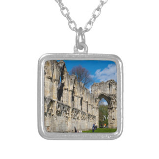 St Mary Abby York museum Personalized Necklace