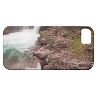 St Mary cae en Parque Nacional Glacier adentro iPhone 5 Carcasas