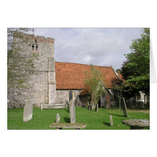 St Mary Church, Turville, Buckinghamshire Card