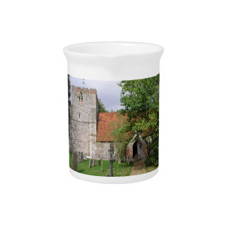 St Mary Church, Turville, Buckinghamshire Beverage Pitcher