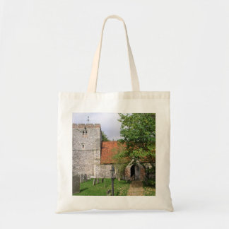 St Mary Church, Turville, Buckinghamshire Tote Bag
