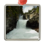 St. Mary Falls at Glacier National Park Metal Ornament