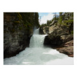 St. Mary Falls at Glacier National Park Poster