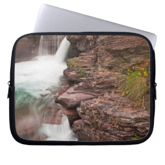 St Mary Falls in Glacier National Park in Computer Sleeve