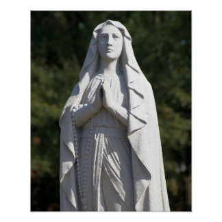 St. Mary in Prayer 16x20 Poster