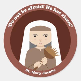 St. Mary Jacobe Classic Round Sticker
