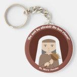St Mary Jacobe Llavero Redondo Tipo Pin