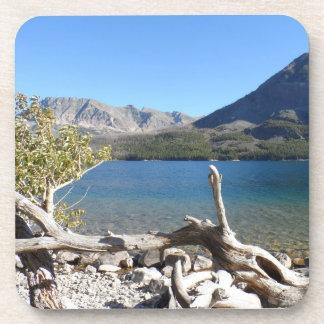 St Mary Lake- Glacier National Park Beverage Coaster