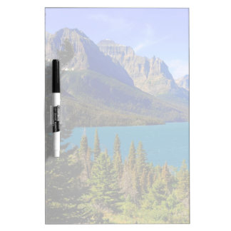 St. Mary Lake,  Glacier National Park,  Montana Dry Erase Board