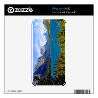 St. Mary Lake,  Glacier National Park,  Montana iPhone 4 Skins