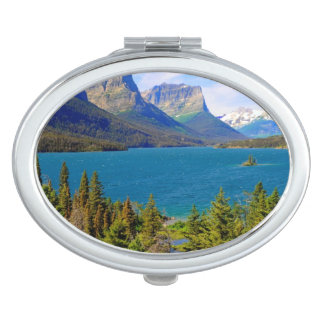St. Mary Lake,  Glacier National Park,  Montana Mirror For Makeup