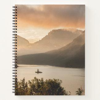 St. Mary Lake | Glacier National Park, Montana Notebook