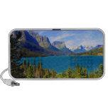 St. Mary Lake,  Glacier National Park,  Montana Portable Speaker