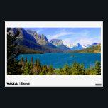 "St. Mary Lake,  Glacier National Park,  Montana Wall Sticker<br><div class=""desc"">St. Mary Lake,   Glacier National Park,   Montana</div>"