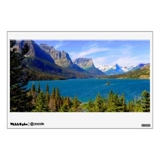 St. Mary Lake,  Glacier National Park,  Montana Wall Sticker