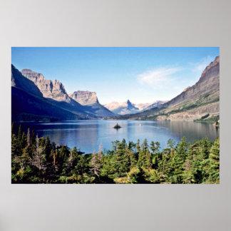 St. Mary Lake - Glacier National Park Poster