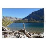 St Mary Lake- Glacier National Park Stationery Note Card