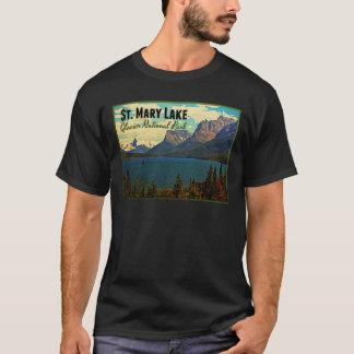 St. Mary Lake Glacier NP T-Shirt