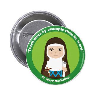 St Mary MacKillop Pin Redondo De 2 Pulgadas
